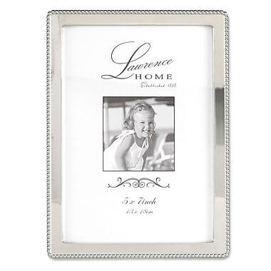 Lawrence Frames 710757 Silver Metal 7.52