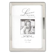Lawrence Frames 710757 Silver Metal 7.52 x 5.55 Picture Frame