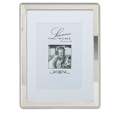 Lawrence Frames 710780 Silver Metal 8.54
