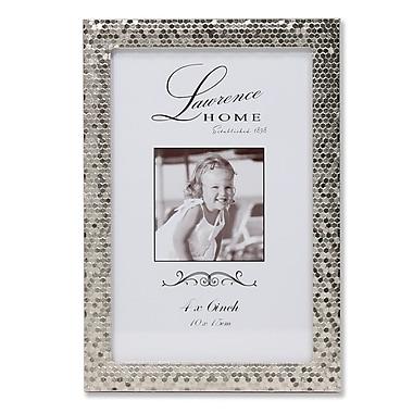 Lawrence Frames 710846 Shimmer Silver Metal 6.54