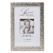 "Lawrence Frames 710846 Shimmer Silver Metal 6.54"" x 4.57"" Picture Frame"