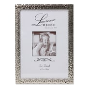 "Lawrence Frames 710857 Shimmer Silver Metal 7.52"" x 5.55"" Picture Frame"
