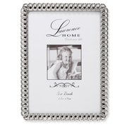 "Lawrence Frames 711057 Silver Metal 7.52"" x 5.55"" Picture Frame"
