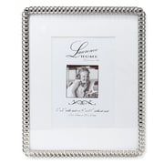 "Lawrence Frames 711080 Silver Metal 10.51"" x 8.54"" Picture Frame"