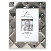 "Lawrence Frames 711157 Silver Metal 7.2"" x 9.25"" Picture Frame"