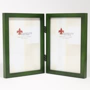 Lawrence Frames 756057D Green Wood 7.63 x 11.38 Picture Frame