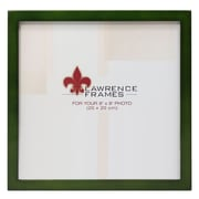 """Lawrence Frames 756088 Green Wood 8.82"""" x 8.82"""" Picture Frame"""