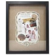 Lawrence Frames 530511 Black Polystyrene 15.25 x 12.25 Picture Frame