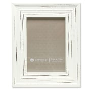 "Lawrence Frames 533557 Weathered Ivory Polystyrene 9.88""L x 7.88""W Picture Frame"