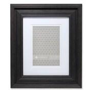 Lawrence Frames 535280 Grooved Black Polystyrene 13.88 x 11.88 Picture Frame