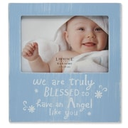 "Lawrence Frames Lawrence Nursery 6""L x 4""W Wood Baby Picture Frame 546264"