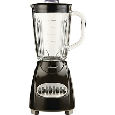 Brentwood® 12 Speed Blender With 1.25 Litre Glass Jars