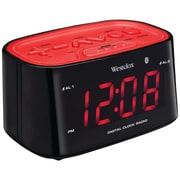 Westclox® 81014 Bluetooth 1.2 LED Dual Nap Alarm Clock Radio