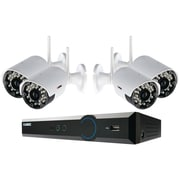 LOREX® 4 Channel Security Camera System With Weatherproof Wireless Cameras