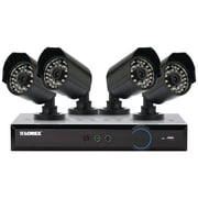 LOREX® ECO Blackbox 3 Series 4 Channel Indoor/Outdoor Security Camera System W/Stratus Connectivity