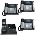 RCA 4 Line/4 Corded And Cordless Phone Bundle