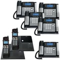 RCA 4 Line/7 Corded And Cordless Phone Bundle