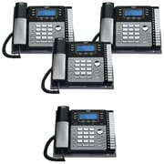 RCA 4 Line 4 Units Corded Phone Bundle