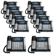 RCA 4 Line 12 Units Corded Phone Bundle
