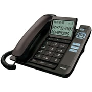 RCA 1113-1 Corded Desktop Speakerphone With Caller ID, Black