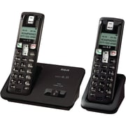 RCA 2101-2 DECT 6.0 Two Handset Cordless Phone With Caller ID, 50 Name/Number
