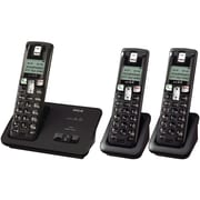 RCA 2101-3 DECT 6.0 Three Handset Cordless Phone With Caller ID, 50 Name/Number