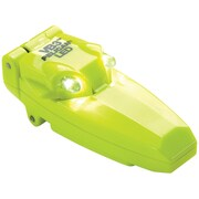 Pelican™ 9 Lumens Clip-on Super Bright Dual LED Flashlight With Flip-up Activation, Yellow