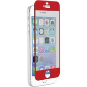 Znitro Nitro Glass Screen Protector For iPhone 5/5s/5c, Red