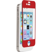 Znitro Nitro Glass Screen Protector For iPhone 4/4s, Red
