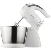 Brentwood® 200 W 5 Speed Stand Mixer With Bowl, White