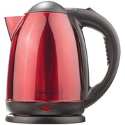 Brentwood® 1.5 Liter Stainless Steel Electric Cordless Tea Kettle, Red