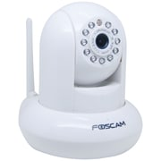 FOSCAM 1.0 Megapixel H.264 Pan/Tilt Wireless IP Camera, White
