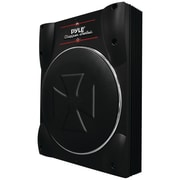 "Pyle® 10"" 1000 W Low-Profile Super Slim Active Amplified Subwoofer System"