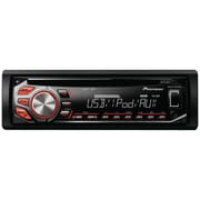 Pioneer DEH-X26UI In-Dash CD RDS Receiver W/MIXTRAX/USB & iPhone/iPod Control, Black