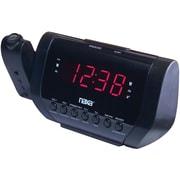 Naxa® NRC-173 Projection AM/FM Dual Alarm Clock