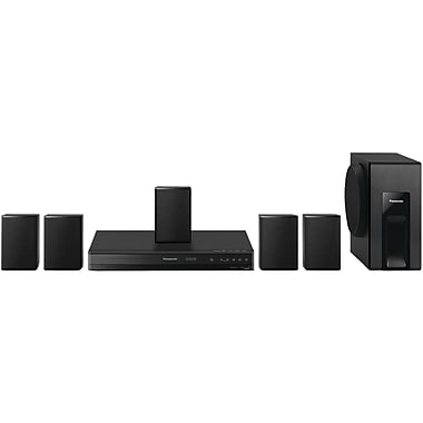 Panasonic SC-XH105 5.1 Channel DVD Home Theater System, Black