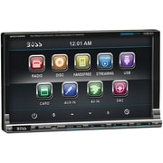 "Boss® BV9759BD 7"" In-Dash Double-Din Motorized Detachable Touchscreen Bluetooth DVD Player"