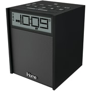 iHome® IBN180B Bluetooth Dual Alarm FM Clock Radio With USB