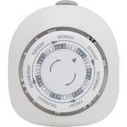 GE 15151 Mechanical 7-Day Polarized Plug-In Timer