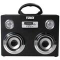 Naxa® NAS-3043 3.4W Portable Bluetooth Sound System/MP3 Player, Black