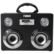 Naxa® NAS-3043 3.4W Portable Bluetooth Sound System/MP3 Player, Black