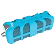 Pyle® Sound Box Splash-Rugged and Splash-Proof Marine-Grade Portable Bluetooth Speaker, Blue