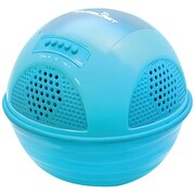 Pyle® PWR90D Aqua Blast Floating Pool Bluetooth Speaker System With Rechargeable Battery, Blue