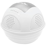 Pyle® PWR90D Aqua Blast Floating Pool Bluetooth Speaker System With Rechargeable Battery, White