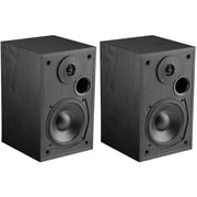 MTX® MONITOR5I 100W RMS 5 1/4 2-Way Bookshelf Speakers, Black Ash