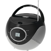 Naxa® NPB-263 MP3/CD Mini Boombox and USB Player, Black