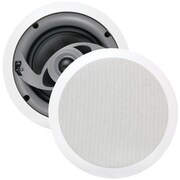 MTX® CT625C 60W RMS 6 1/2 Glass Fiber 2-Way In-Ceiling Speakers, Gray