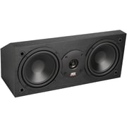 "MTX® MONITOR6C 100W RMS Dual 6.5"" 2-Way Center Channel Speaker, Black Ash"
