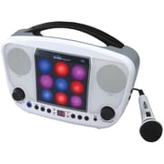 Karaoke Night KN103 CD Sing-A-Long Karaoke System With LED Light Show