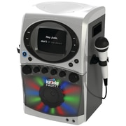 Karaoke Night KN355 CD+G Karaoke System With LED Light Show and Monitor